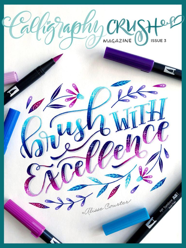 Calligraphy Crush Issue 3