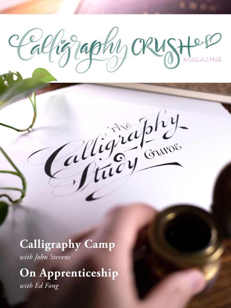 Calligraphy Crush Issue 4