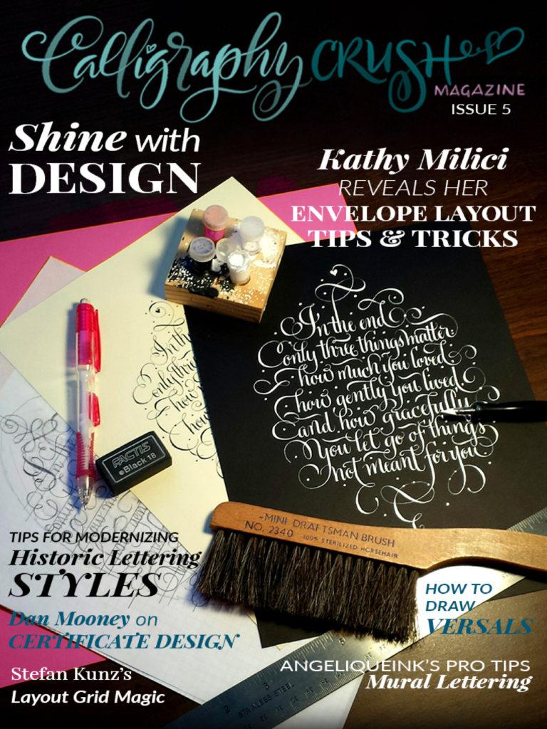 Calligraphy Crush Issue 5