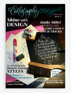 Issue 5 Shine with Design