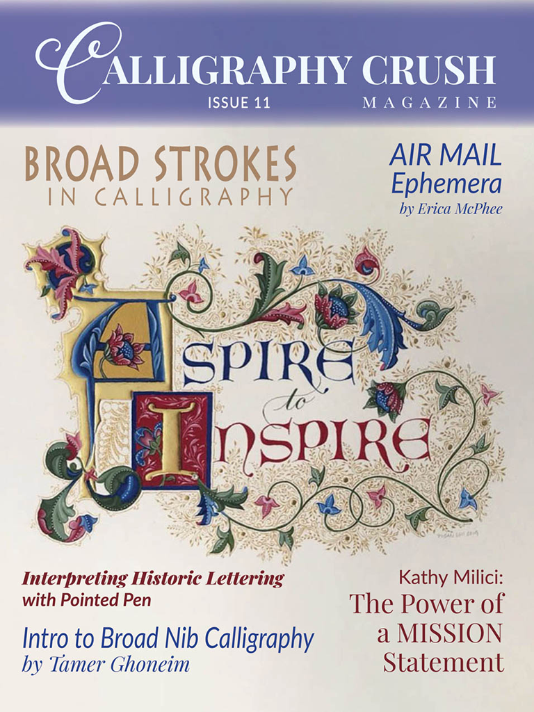 Calligraphy Crush Issue 11